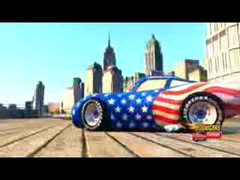 Lightning McQueen USA   Disney Cars Pixar Spiderman Nursery Rhymes   Songs for Children with Action