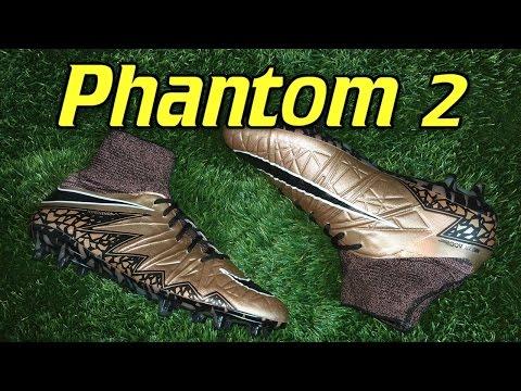 9141411004cc4 Nike Hypervenom Phantom 2 (Liquid Chrome Pack) Metallic Bronze - Review +  On Feet - YouTube
