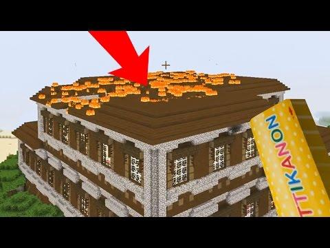 KIJK DIE VLAMMEN! - Minecraft Survival #216