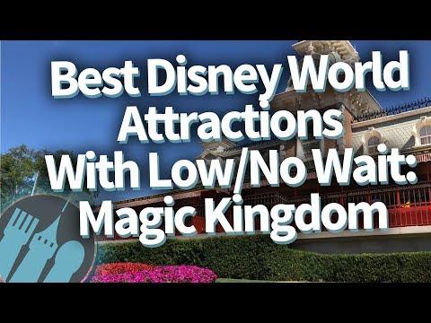 Best Disney World Attractions with SUPER SHORT WAITS: Magic Kingdom