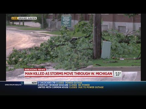 Grand Haven hard hit by deadly fast-moving storm