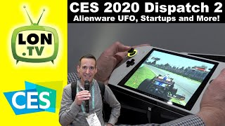 CES 2020 Dispatch 2 - Alienware UFO, Startups, and More!