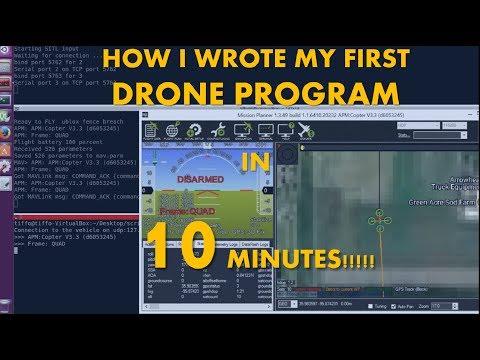 Dronekit setup, simulation and visualization on Mission