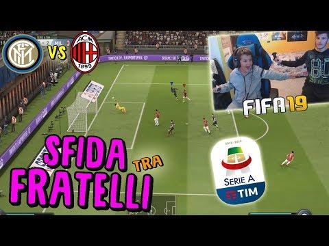 INTER vs MILAN - IL DERBY DELLA MADONNINA! - Fifa 19