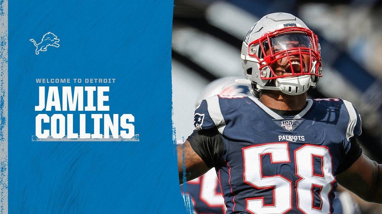 Jamie Collins Sr. Highlights   Detroit Lions