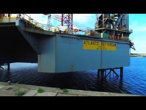 UAV International   Promo   Offshore Drone Inspection HD