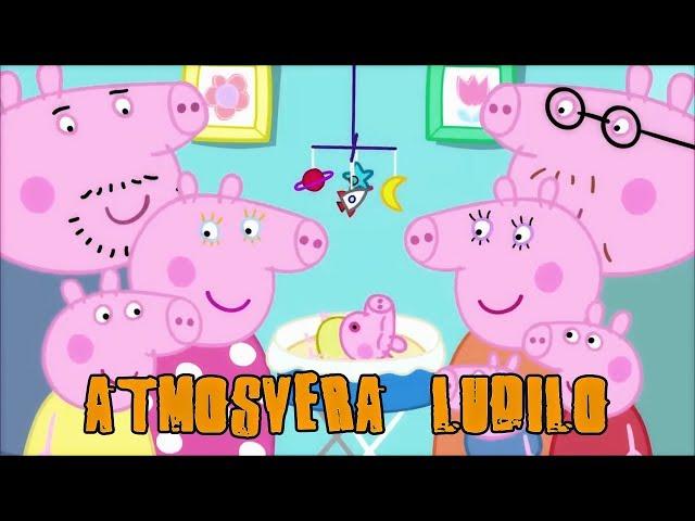Peppa Pig Parody- Atmosvera Ludilo (Na Makedonski Nacin)