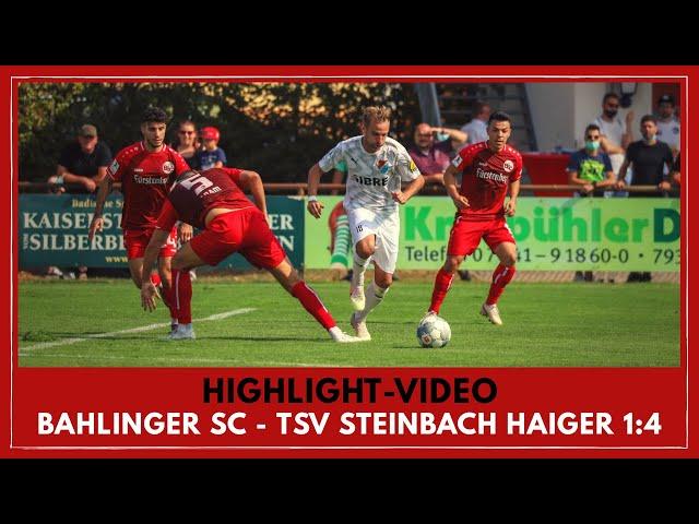 Bahlinger SC - TSV Steinbach Haiger 1:4 (Regionalliga Südwest I #BSCTSV )