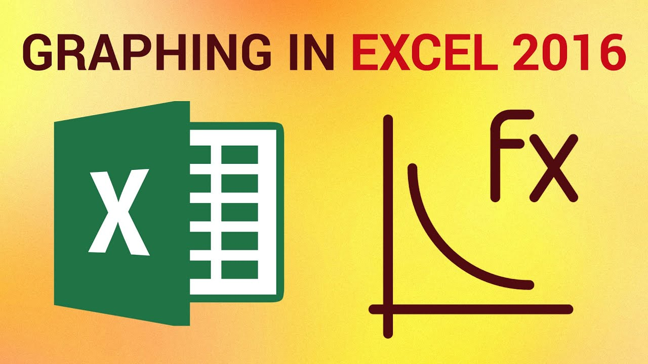 How To Graph A Function In Excel 2016 Youtube