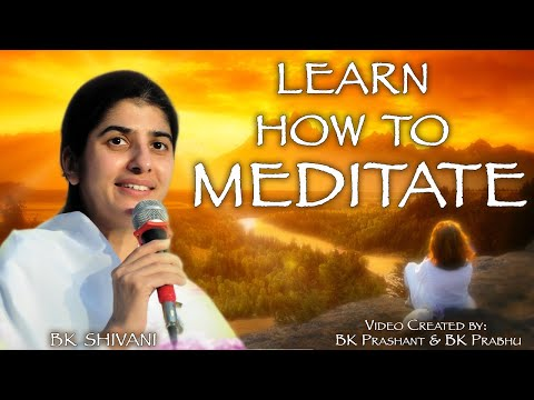 Meditation on Discovering Yourself by BK.Shivani in English (15 Mins)
