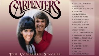 Top 35 Greatest The Carpenters Songs | The Carpenter Greatest Hits Full Album LIVE