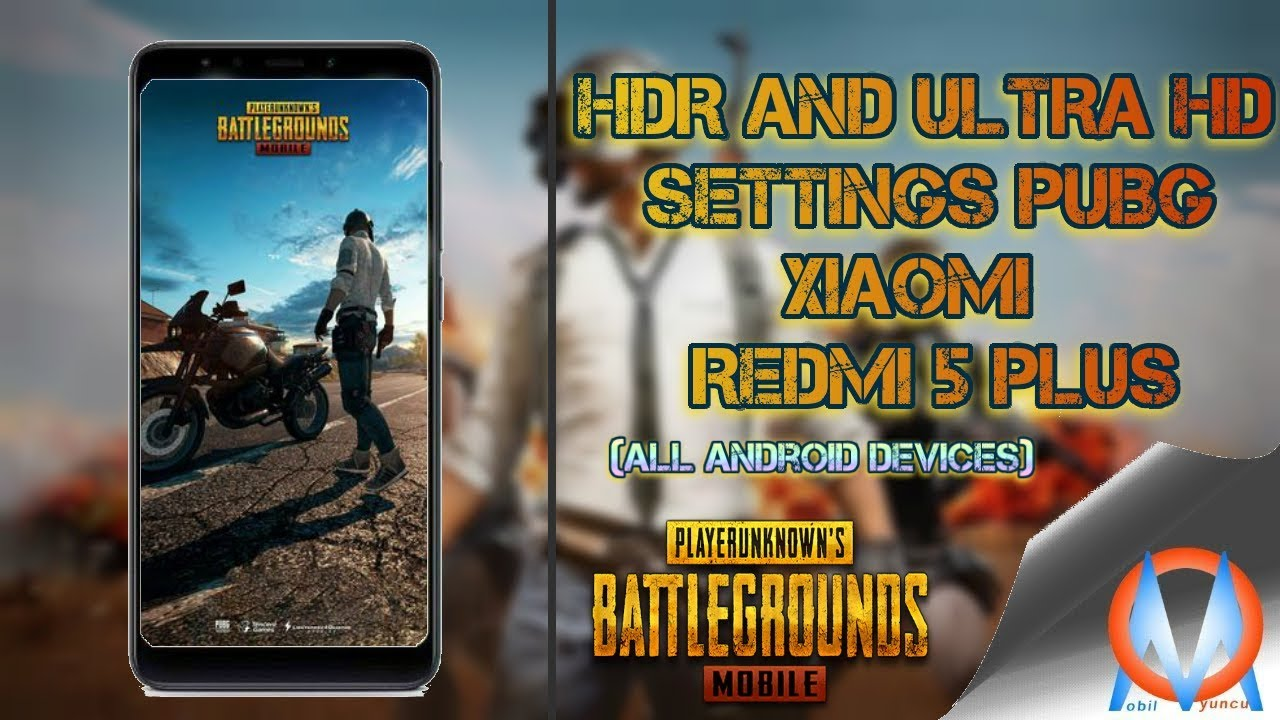 Pubg Mobile Hdr And Ultra Hd Settings With Gltools Redmi 5