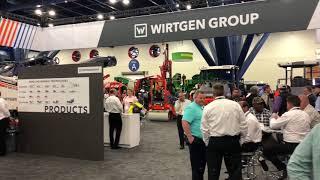 Video still for The Wirtgen Group Exhibit at World of Asphalt 2018