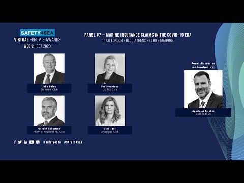 2020 SAFETY4SEA Virtual Forum: Marine Insurance Claims in the COVID-19 era