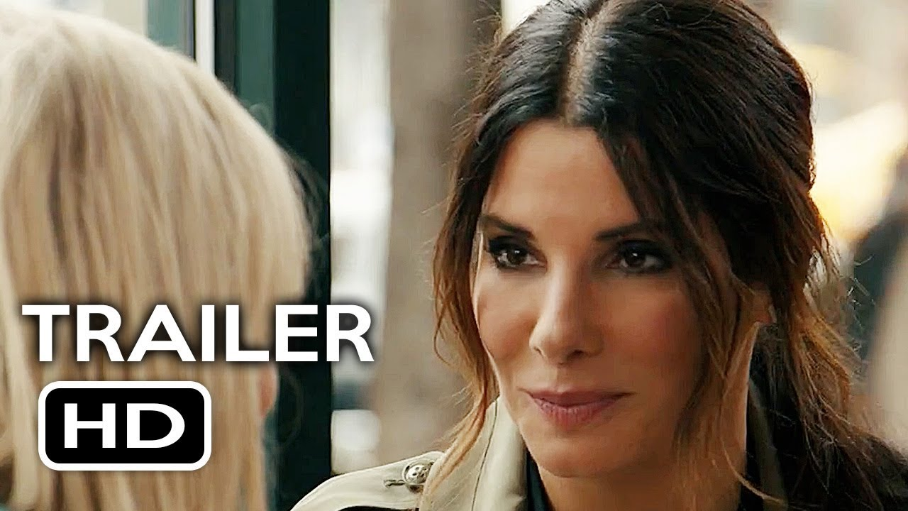 picture Oceans 8 official trailer shows Sandra Bullocks heist in action
