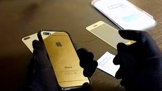 Клемин о защитных плёнках-стёклах на айфон(Зачем нужны? Чем лучше плёнок? Какие бывают? Что такое Anti-View? Как наклеить защитное стекло на смартфон? Делае..., 2014-10-26T22:05:18.000Z)
