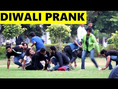 DIWALI PRANK - Fake Firecracker 2 - Pranks in India