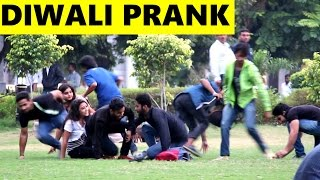 DIWALI PRANK - Fake Firecracker 2 - Pranks in India