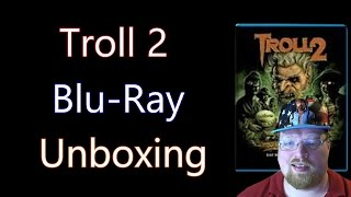 Troll 2 Blu-Ray Unboxing With Fox Halloween Faceplate