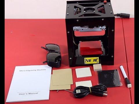 Neje Dk 8 Kz 1000mw Laser Engraver Test Doovi