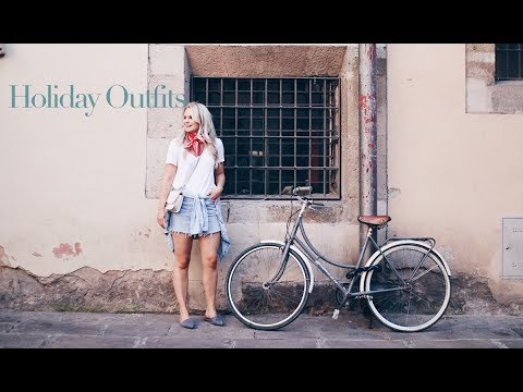 [VIDEO] - SUMMER HOLIDAY OUTFITS | ANDREACLARE 4