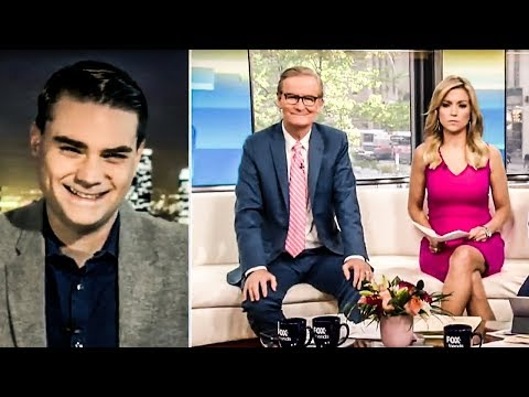 Ben Shapiro's Spews BARRAGE Of Lies On Fox & Friends on Pale