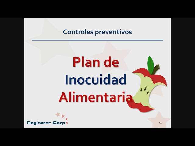 Reglas de la U.S. FDA para Controles preventivos para alimentos de consumo humano y animal (HARPC)