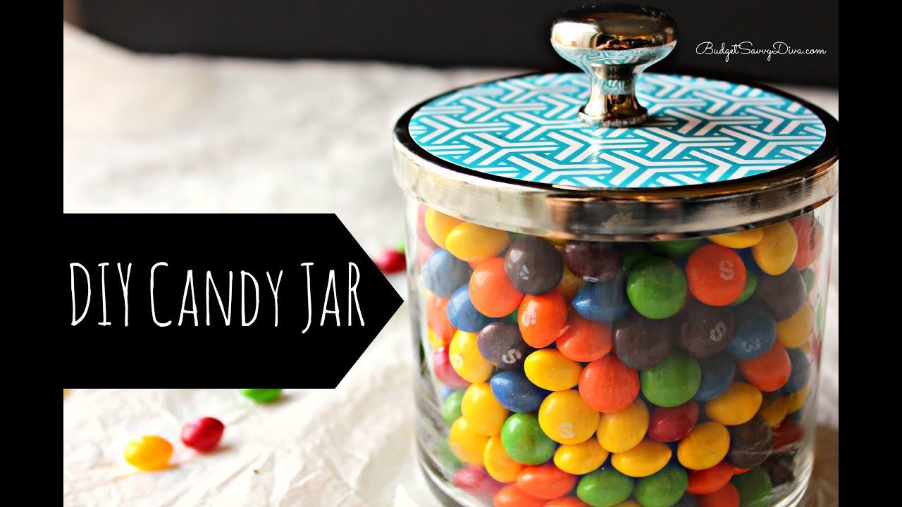 Diy Candy Jar By Upcycling Bath Body Works Jars Budget Savvy Diva