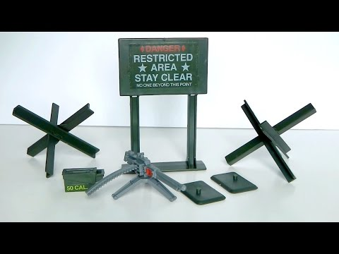 1984 Machine Gun Defense Unit G.I. Joe review
