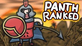 Playing PANTHEON in Ranked League of Legends