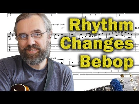 3 types of Rhythm Changes licks you NEED to know