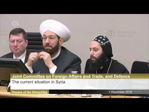 Controversial Syrian Cleric and Assad Ally Visits Ireland, Addresses Lawmakers