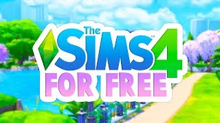 GET THE SIMS 4 BASE GAME FOR FREE RIGHT NOW!!😱💚