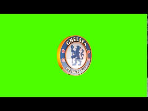 CHELSEA 3D LOGO  free green screen (1920×1080) loop