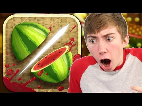 FRUIT NINJA (iPhone Gameplay Video) - 동영상