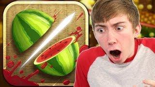 FRUIT NINJA (iPhone Gameplay Video)