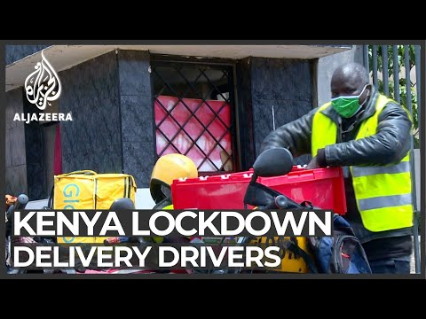 Kenya drivers struggle to make ends meet during lockdown