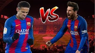 Neymar Jr vs Lionel Messi 2017 ● Skills & Goals Battle | HD