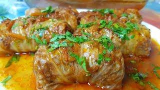 Голубцы с Пекинской капустой, цыганка готовит. Gipsy cuisine.