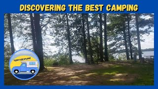 RV Life Camping: Bęst Rv Camping in Wisconsin | Solberg Lake County Park and Campground