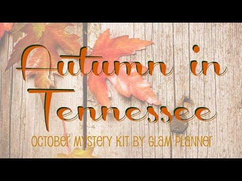 PWM || Autumn in Tennessee || Glam Planner