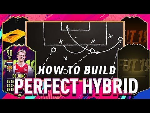 HOW TO BUILD THE PERFECT HYBRID SQUAD!!! - FIFA 19 ULTIMATE TEAM!!