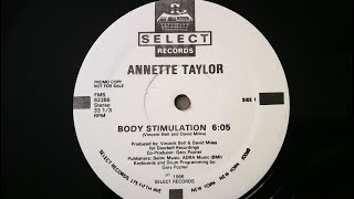 Annette Taylor - Body Stimulation 1986 HQ YouTube Videos