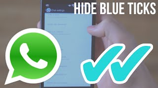 Image result for Hide Read for WhatsApp