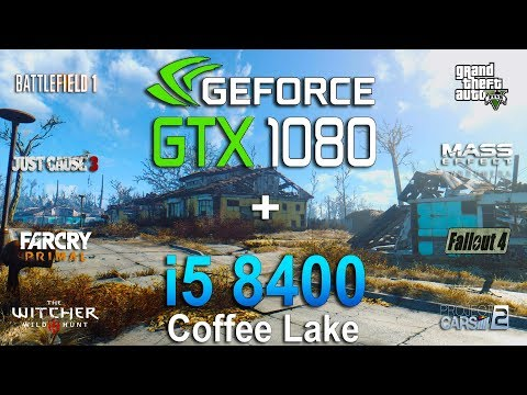 GTX 1080 + i5 8400 Test in 8 Games - YouTube