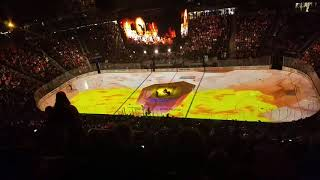 Vegas golden knights opening ceremony vs Blackhawks 10/24/17 #vegasstrong #vegasborn