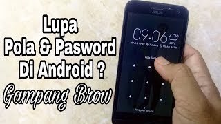 HOW TO OPEN A PASSWORD OR PATTERN FORGETTEN EASY ON ANDROID'S HP.
