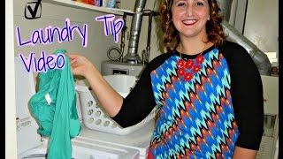 Tuesday Tipday! - Washing Your LuLaRoe Clothes