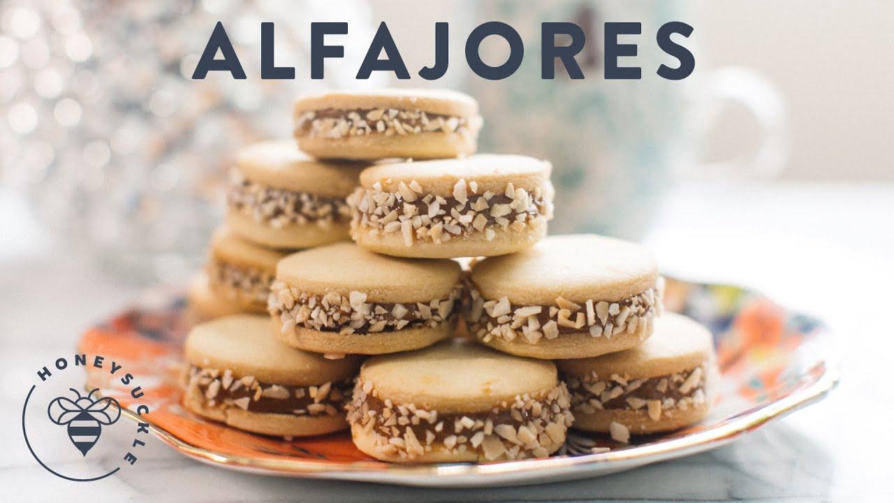 Alfajores Dulce de Leche - Kin's Cookie Collab - YouTube