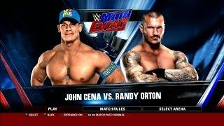 WWE 2K16 John Cena Vs. Randy Orton Main Event Gameplay